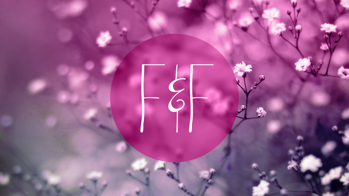 Flowers Fashion backdrop