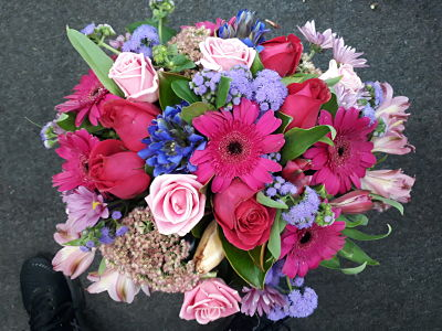 Blue and Pink Mix Bunch