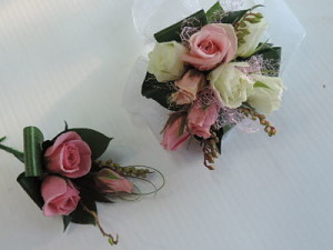wristlet and Buttonhole