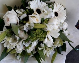 White and Green Bunch